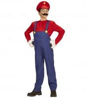 128,140,158 Karneval Halloween Kinder Teufel Kostüm mit Kapuzenmaske rot